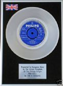 "FOUR SEASONS - 7"" Platinum Disc - RAG DOLL"
